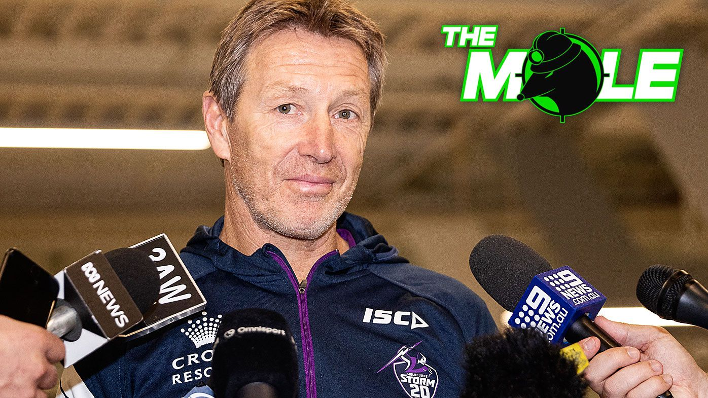 The Mole: Craig Bellamy to sign new deal to remain coach of Melbourne Storm