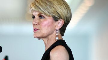 Bishop says Australia would have opposed UN on Israel