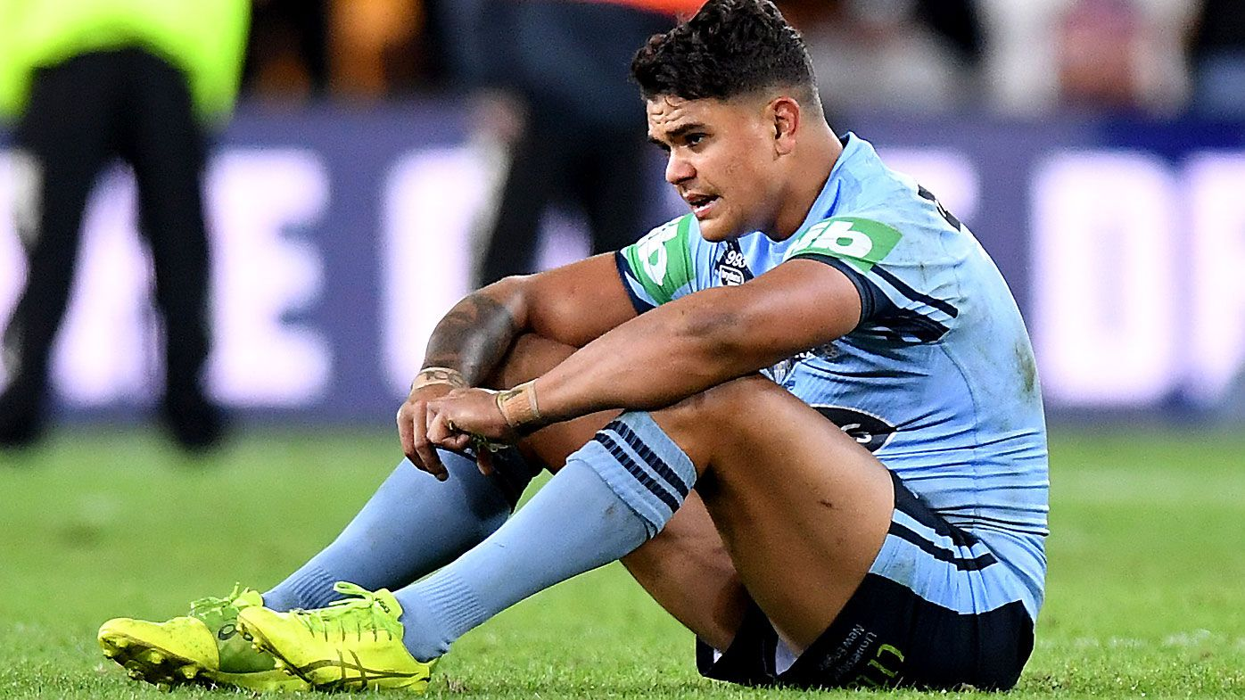 Latrell Mitchell hits back at 'harsh' Origin criticism