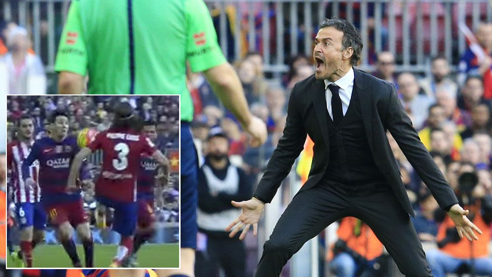 Enrique shocked by challenge on Messi