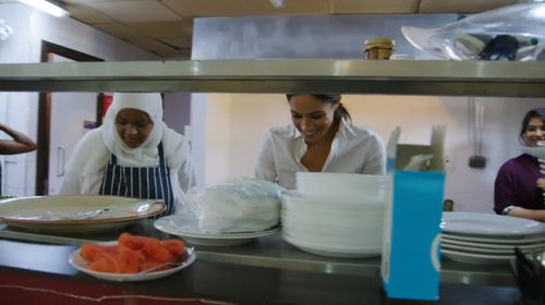 Helping launch a charity cookbook, the Duchess of Sussex is supporting local women affected by the Grenfell Tower tragedy, which killed 72 people.