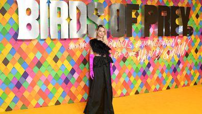 Margot Robbie Birds of Prey World Premiere London
