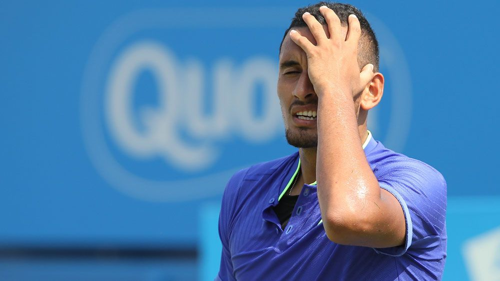 Kyrgios '65 per cent' fit for Wimbledon