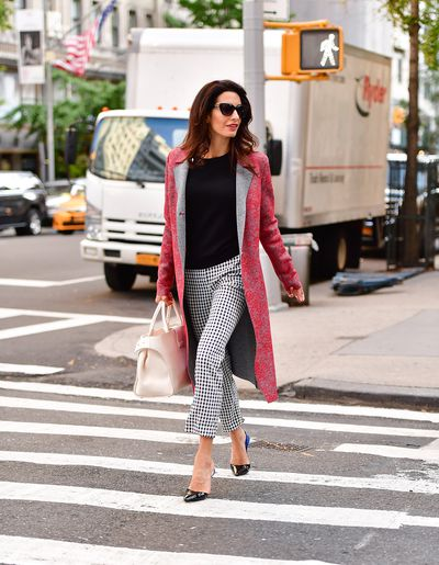 Amal Clooney in New York City, September 2017