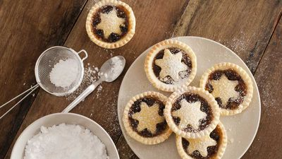 Christmas cookies, cupcakes, tarts and treats