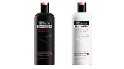 "To promote natural waves:<br><p><a href=""http://www.tresemme.com.au/"" target=""_blank"">Perfectly (Un)done Shampoo and Perfectly (Un)done Conditioner, $6.99 (390ml) each, TRESemmé.</a></p>"