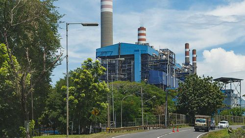 The Paiton power station in Java.