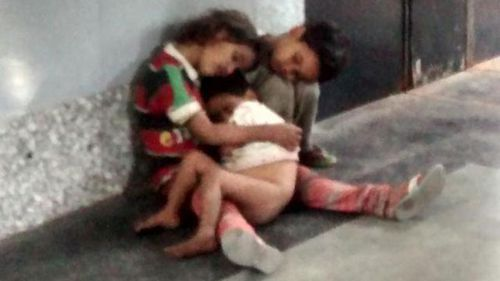 Tweet saves three children abandoned at railway station in India
