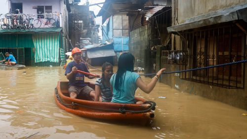 About 87,000 people have been evacuated from high risk areas of the Philippines.