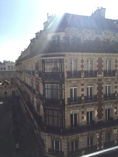 Amazing view from the Balmain Showroom in Paris; I could easily live here.