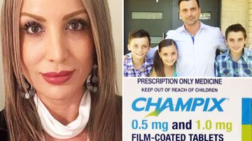 Aussie family calls for anti- smoking drug ban after dad's suicide