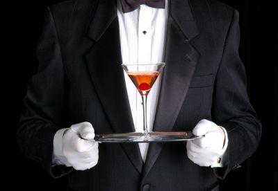 9. Black tie cocktail event