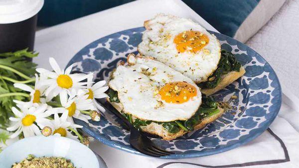 Dukkah eggs