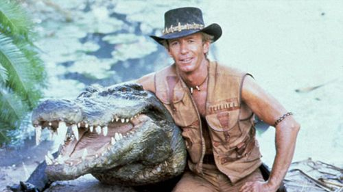 Hogan is best known for his role in 'Crocodile Dundee'. (Paramount)