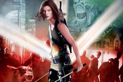 No-one else can dodge bullets and survive explosions like this zombie-killing femme fatale.