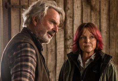 Rams movie, Sam Neill, Michael Caton, Miranda Richardson, filming, farm, Western Australia