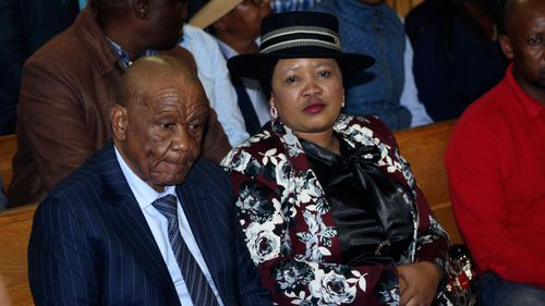 Former first lady of African nation Lesotho faces murder charge
