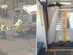 Train crashes into barricade at Richmond station