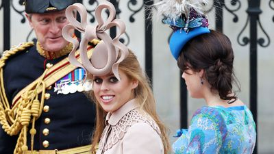 Princess Beatrice at the royal wedding of Prince William and Kate Middleton