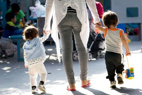 More than 2000 children separated from their parents currently remain in department facilities. Picture: EPA