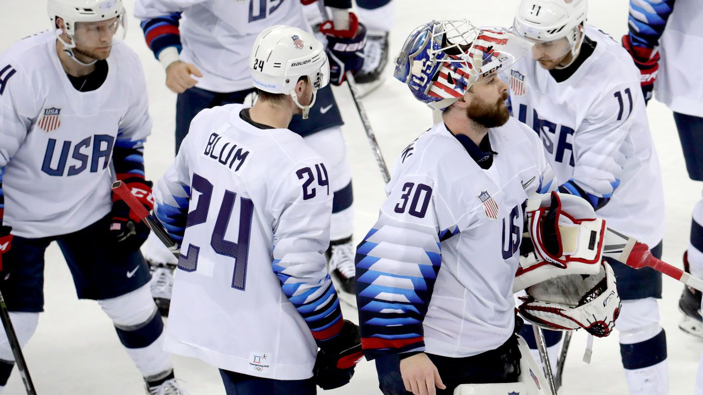 United States men's hockey team won't shake hands with opponents over norovirus fears