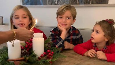 Princess Madeleine's children prepare for Christmas 2020.