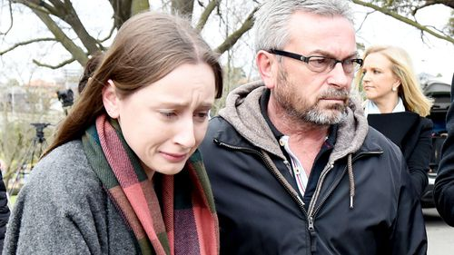 At Mr Ristevski's committal hearing, the couple's daughter Sarah said they frequently fought over their dire financial situation. Picture: 9NEWS