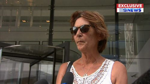 Victim Deborah Kerr outside court today. (9NEWS)
