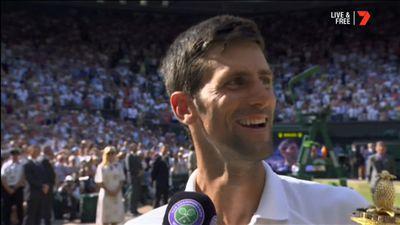 Aussie Mark Philippoussis plays role in Novak Djokovic Wimbledon title
