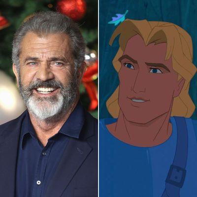 Mel Gibson as John Smith in Pocahontas