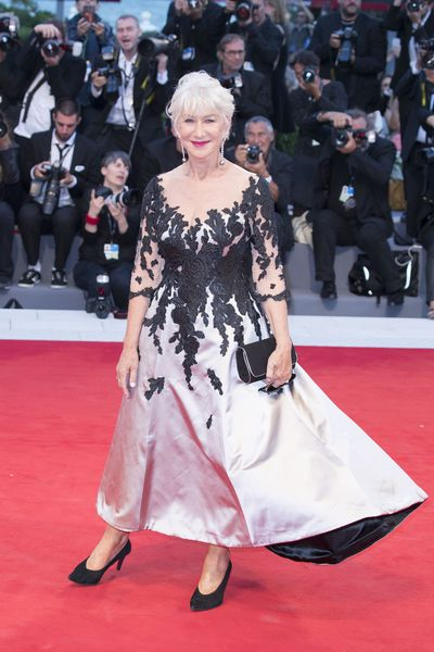 Dame Helen Mirren in Sassi Holford at the 74th Venice Film Festival, September 3, 2017.