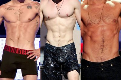 We have a theory: If you've seen dozens of amazing six packs, you've pretty much seen them all.<br/><br/>We're not saying we ever tire of looking. But tattoos and distinguishing body marks aside, there's probably more variety in the six packs you drink than the ones you drool over.<br/><br/>Do you agree? Well, here's a test: Can you guess the owner of the following abs? Each six-pack snap is followed by the hot celeb who calls them his own.