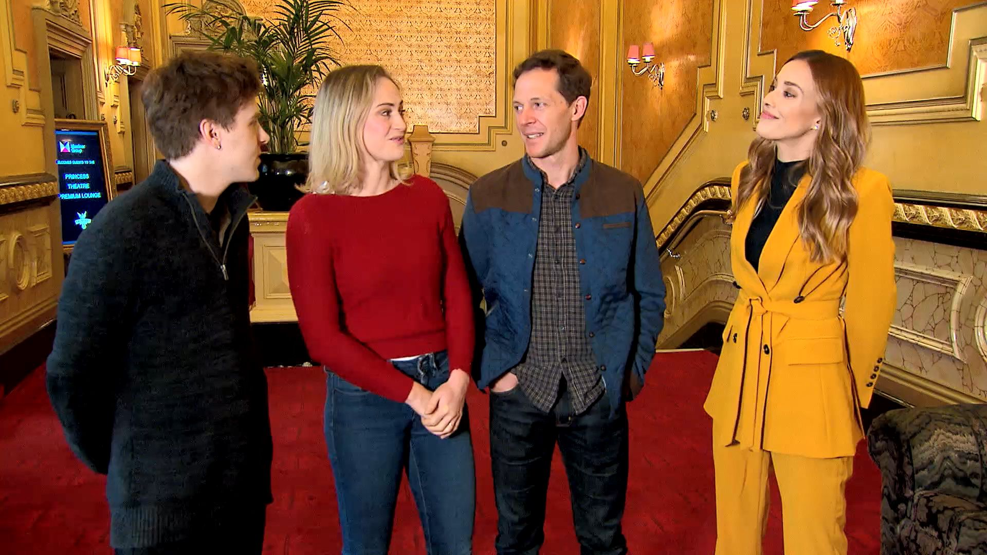 Bec meets the cast of 'Harry Potter and the Cursed Child': Postcards 2019,  Short Video