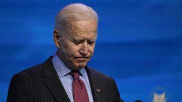 Joe Biden will be inaugurated on January 20.