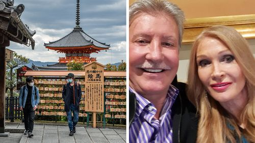 Alex and Katrina Anderson paid $37,000 for holidays booked with Luxury Escapes, including a trip to Japan that was cancelled.