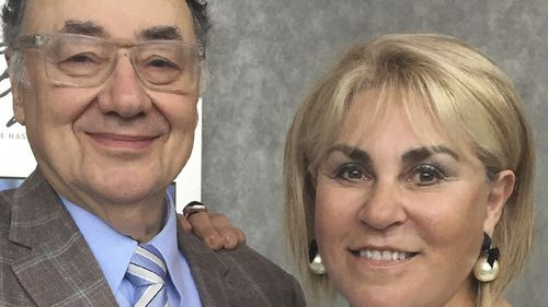 Murdered couple Barry and Honey Sherman in Toronto.