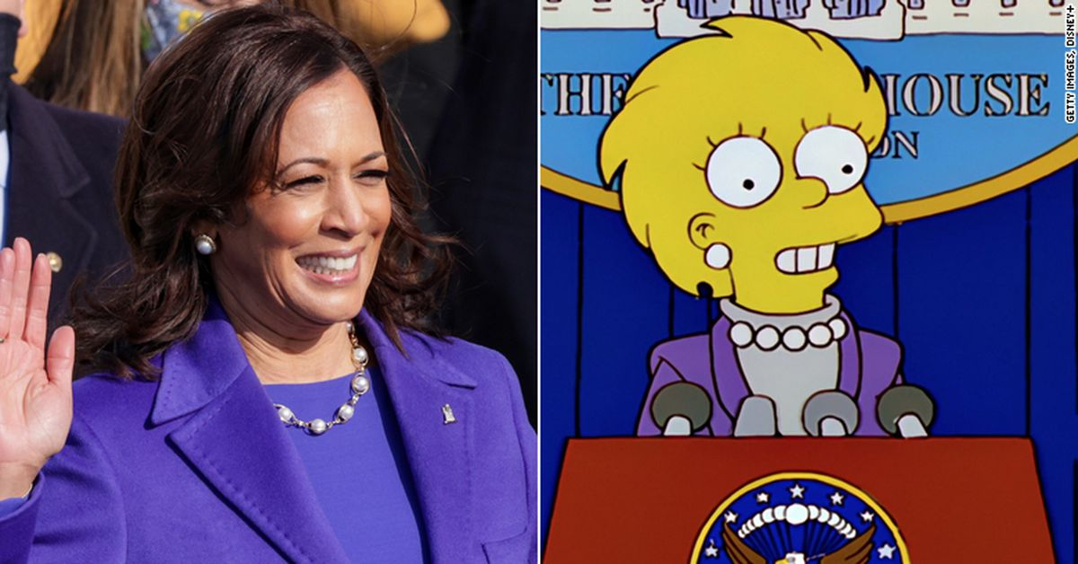 The Simpsons do it again with Kamala Harris inauguration 'prediction'