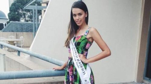 Elyse was a Miss World contestant. (Supplied)