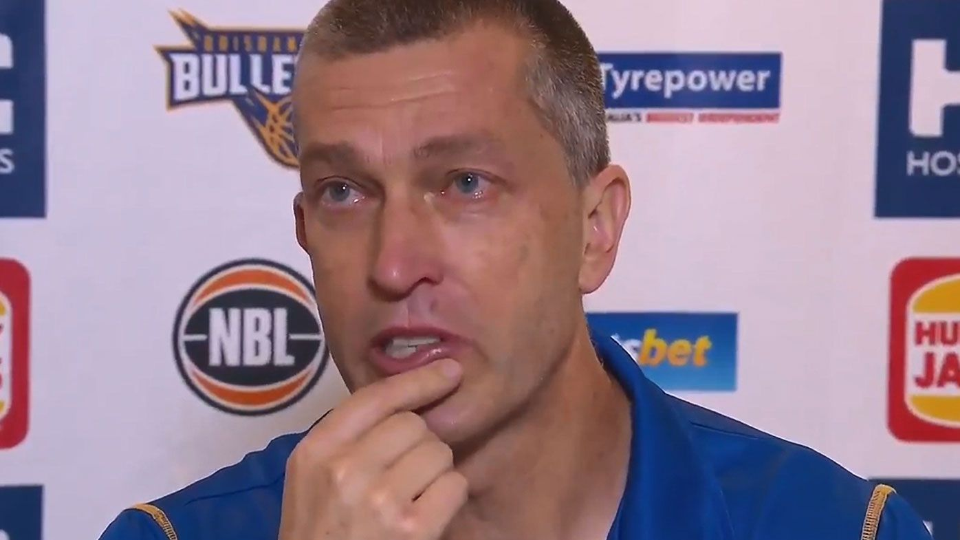 Andrej Lemanis brought to tears by Mika Vukona's selfless gesture prior to Game 2 loss