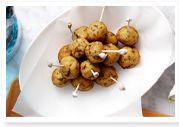 Fish balls with dill mayonnaise