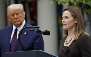 Donald Trump announces conservative Amy Coney Barrett as US Supreme Court pick