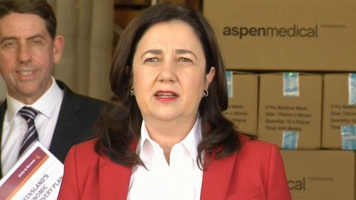 Queensland Premier Annastacia Palaszczuk remains defiant amid pressure to reopen the state's borders.