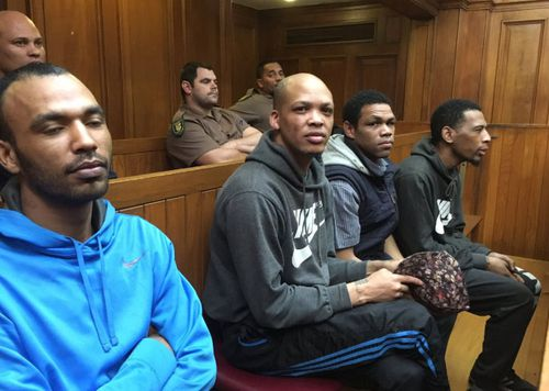 Vernon Witbooi, Eben van Niekerk, Nashwill Julies and Geraldo Parsons face charges that include kidnapping, rape and murder.