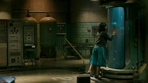 A moment from the much-hyped The Shape of Water. (AAP)