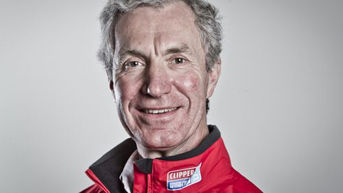 Simon Speirs, 60, from Bristol, UK, was washed overboard, despite being clipped on with his safety tether. (clipperroundtheworld.com)