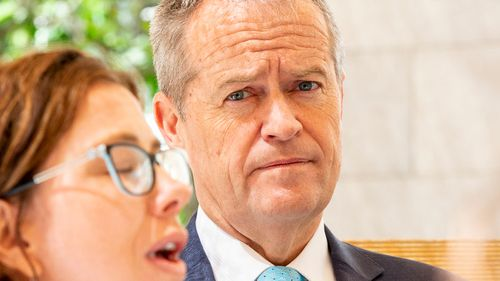 Bill Shorten has not clarified whether Labor supports sector-wide bargaining but says the playing field between workers and employers needs to be leveled.