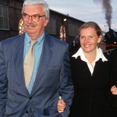 Daniel and Sophie Toscan du Plantier in 1995.