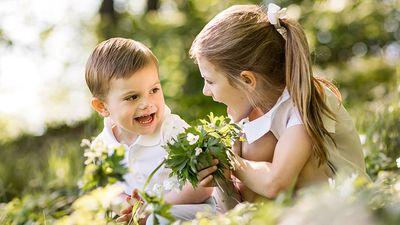 Swedish royal family children: Princess Estelle and Prince Oscar