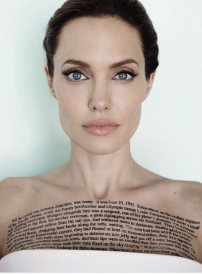 Angelina Jolie, November 2014