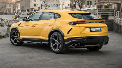The Urus sprints to 100km/hr in a swift 3.6 seconds.